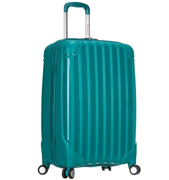 REAbags Cestovní kufr AEROLITE T-665/3-60 PP zelená