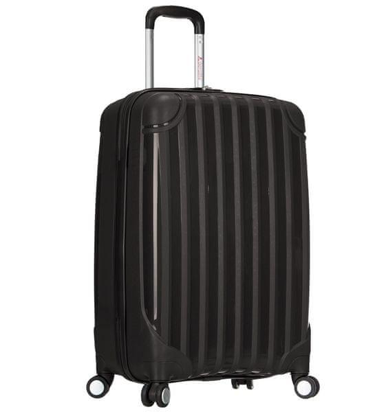 REAbags Cestovní kufr AEROLITE T-665/3-70 PP černá