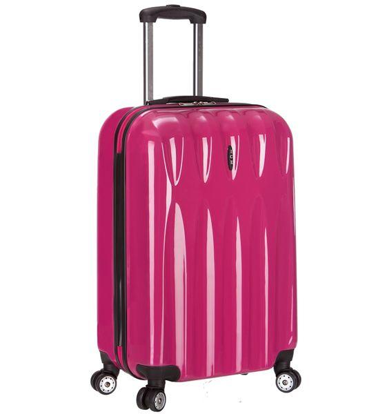 REAbags Cestovní kufr ICE T-1063/3-70 PC růžová