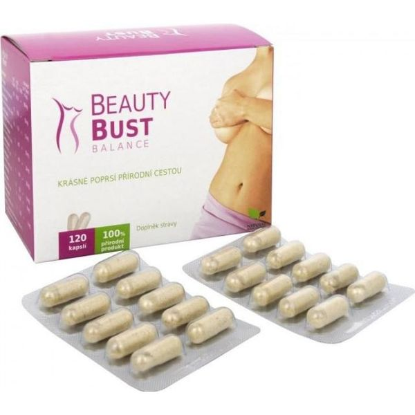 Natural Medicaments Beauty Bust Balance cps.120