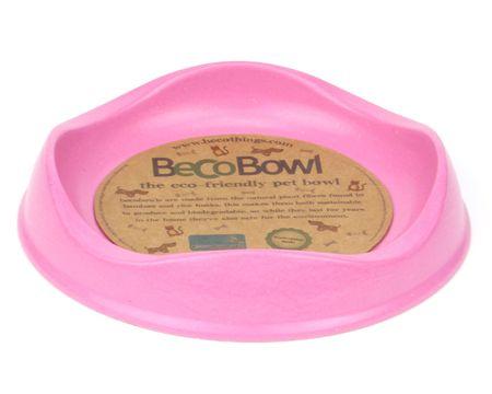Beco Bowl Macska Etetőtál, 0.25 l, Rózsaszín