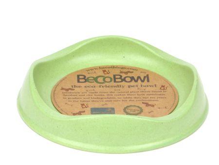 Beco Bowl Macska Etetőtál, 0,25 l, Zöld