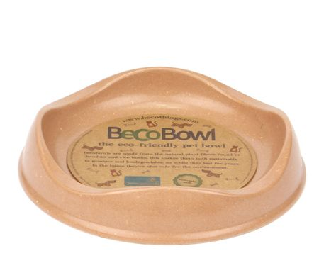 Beco Bowl Macska Etetőtál, 0.25 l, Barna