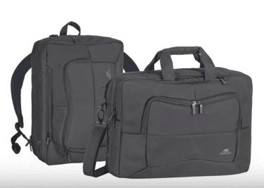 """RivaCase transformer, nahrbtnik/torba za računalnik 40,64 cm (16""""), črna (8490)"""