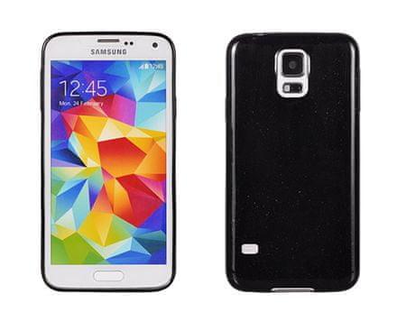 silikonski ovitek za Samsung Galaxy J5, J500, črn