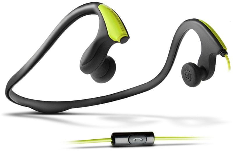 Energy Sistem Running One s mikrofonem, zelená