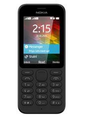Nokia telefon komórkowy 215 DS, czarny
