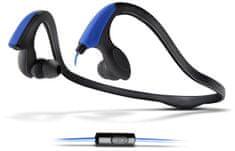 Energy Sistem Running Two s mikrofonem, modrá
