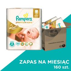 Pampers Premium Care Pieluchy, rozmiar 2 Mini 160 sztuk
