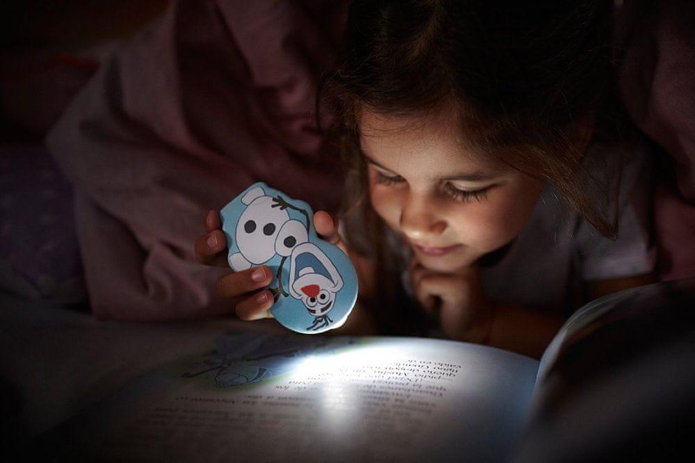 Philips Dětské orientační LED svítidlo Olaf 71767/08/16