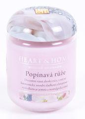 Albi Heart & Home malá svíčka Popínavá růže