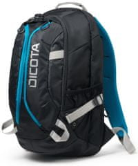 "Dicota Backpack Active 14"" - 15.6"" black / blue (D31047)"