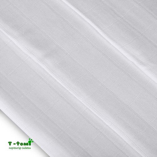 T-Tomi Bambusové pleny, sada 3 kusů, bílá