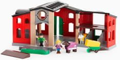 Brio WORLD 33791 Koňská stáj