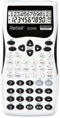 Rebell kalkulator SC2040, črno-bel