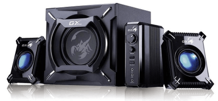 Genius genius-GX gaming zvočnik SW-G2.1 2000 2.1 - odprta embalaža