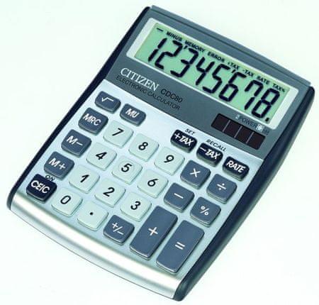 Citizen kalkulator CDC-80WB, srebrn