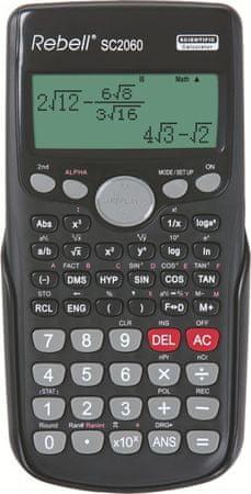 Rebell kalkulator SC2060BX, črn