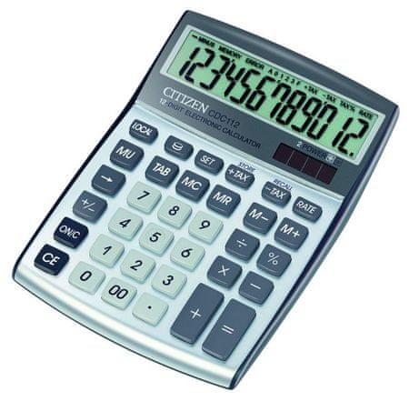 Citizen kalkulator CDC-112WB, srebrn