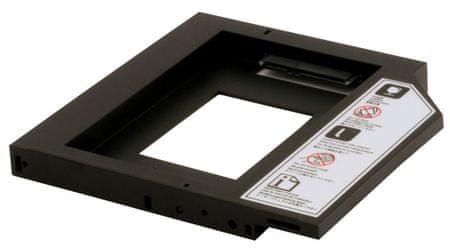 Delock nosilec za HDD - 12,5 mm za prenosnike