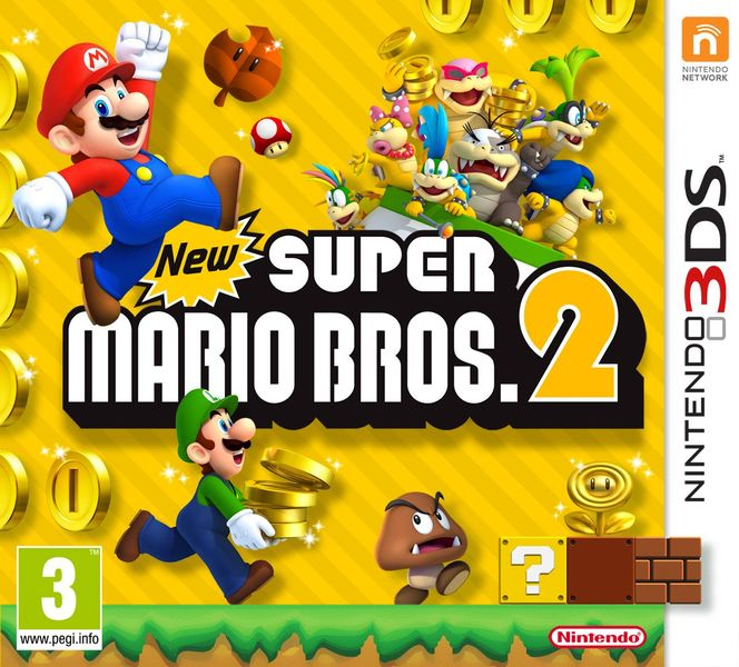 Nintendo New Super Mario Bros.2 / 3DS