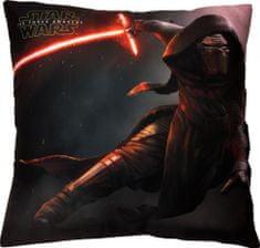 Jerry Fabrics Star Wars VII párna , 40 x 40 cm
