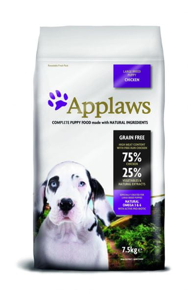 Applaws Dog Puppy Large Breed Chicken 7,5 kg