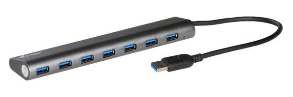 I-TEC USB 3.0 Metal Charging HUB 7 Port
