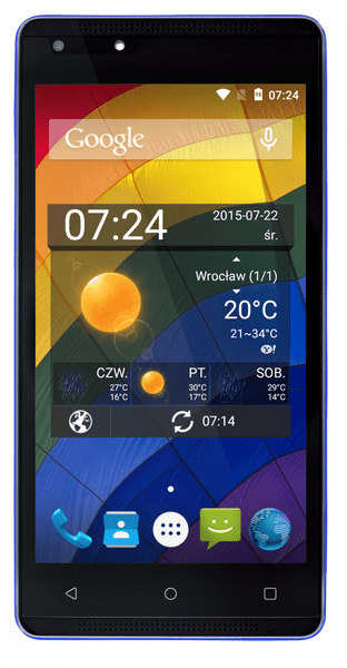 myPhone VENUM, modrý