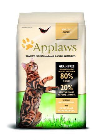 Applaws sucha karma dla dorosłych kotów z kurczakiem Adult Cat Chicken 7,5kg