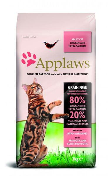 Applaws Adult Cat Chicken & Salmon 2kg