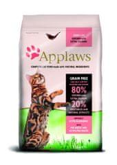 Applaws Felnőtt macskaeledel, Csirke és lazac, 7,5 kg