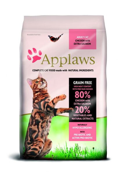 Applaws Adult Cat Chicken & Salmon 7,5kg