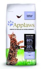 Applaws hrana za odrasle mačke, piščanec in raca, 2 kg