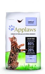 Applaws hrana za odrasle mačke, piščanec in raca, 7,5 kg