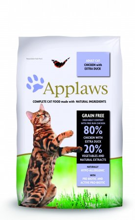 Applaws Adult Cat Chicken & DUCK 7,5kg