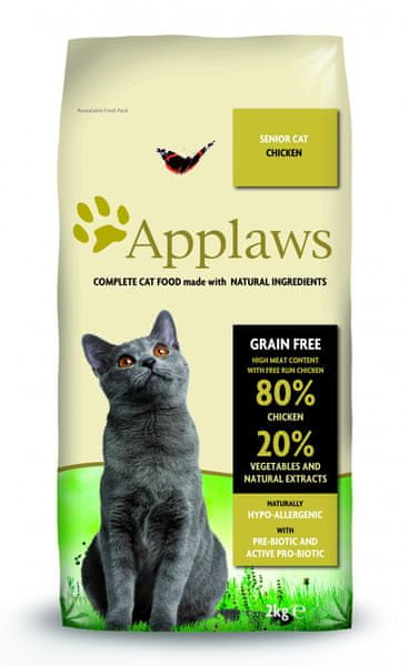 Applaws SENIOR Cat Chicken 2kg