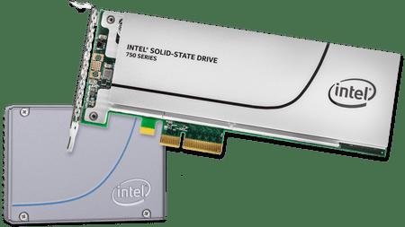 Intel SSD trdi disk 750 Series 800 GB NVMe PCIe 3.0