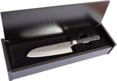 Berndorf HANAMAKI nůž Santoku 16cm damascénský