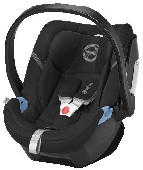 Cybex Aton 4 2016, Happy Black