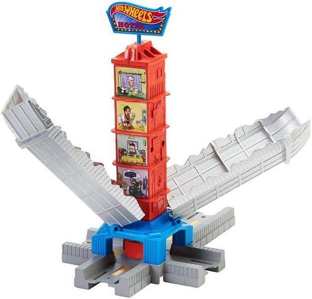 Hot Wheels Track Builder Busted Building