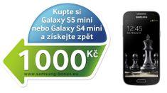 Samsung Galaxy S 4 mini i9195, VE, černý + Cashback 1.000 Kč