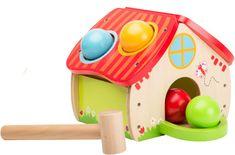 Johntoy Drevený zatĺkací domček