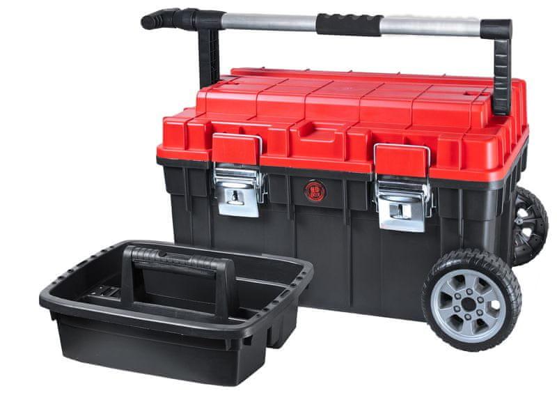 PATROL Kufr na nářadí s kolečky HD Trophy 1 červená/černá