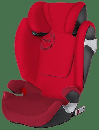 Cybex avtosedež Solution M-Fix 2016, Mars Red