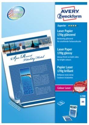 Avery Zweckform Pisarniški papir Superior 1298, A4, 200 listov