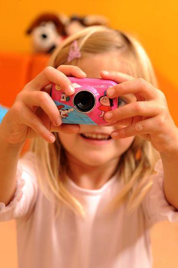 GoGEN Outdorová kamera růžová, Maxipes Fík