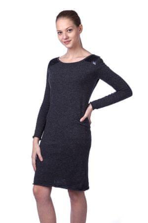 Timeout ženska obleka L temno siva