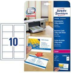 Avery Zweckform Papir za vizitke Quick&Clean, 85 x 54 mm, 250 kom (C32016-25)