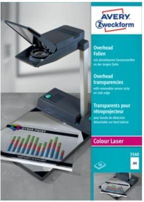 Avery Zweckform Prosojnica 3560 za barvne laserske tiskalnike 50/1